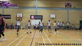 Juan Manning catches a body: Transition Basketball VS London United