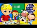 Little Baby Bum | Georgie and Porgie | Nursery Rhymes for Babies | Songs for Kids