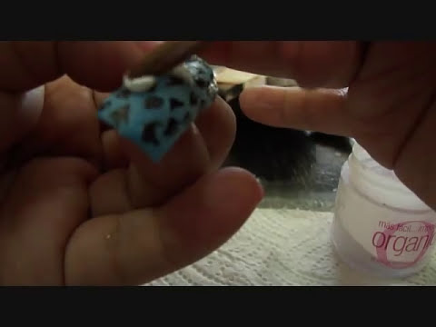 UÑAS DECORADAS animal print, flor 3D, difuminado