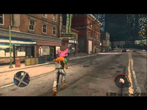 Saints Row: The Third - Give Gat Mobile Cheat Activated