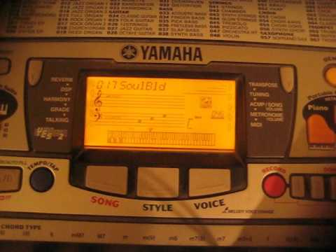Yamaha Portatone music styles - part 1 of 2