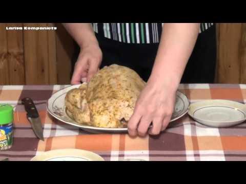Как приготовить курицу-гриль - видео
