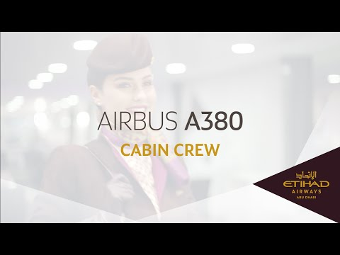 Etihad Airways - Cabin Crew - Airbus A380 Maiden Flight