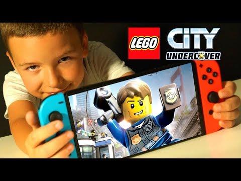 👬🚔 LEGO City UnderCover 2017 Прохождение ИГРЫ Лего Сити ГТА с ПАПОЙ на Nintendo Switch