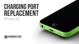 How to: iPhone 5C Charging Port (Microphone, Headset Jack) Assembly Replacement
