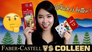 Faber-Castell VS Colleen Color Pencil | Tagalog