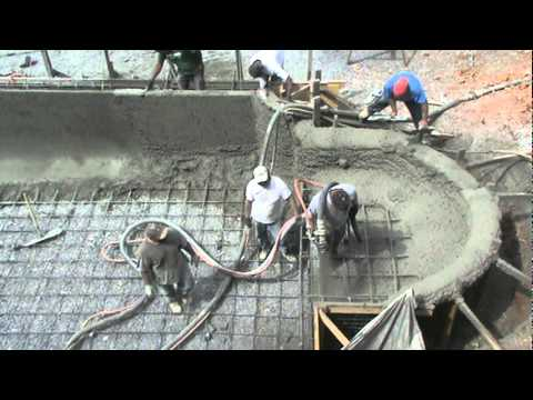 Gunite Pool Construction Video