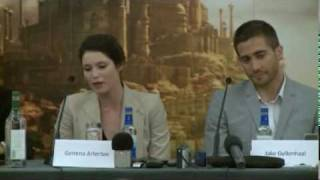 Press Conference: Prince Of Persia with Jake Gyllenhaal and Gemma Arterton (TFC)