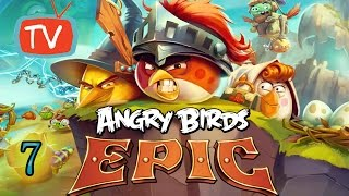 Angry Birds Epic - Part 7 Battle For Yellow Key - Gameplay
