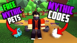 *UPDATE 3 CODES* HOW TO GET FREE MYTHIC PETS IN ROBLOX MAGNET SIMULATOR