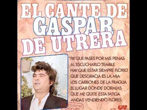 GASPAR DE UTRERA-PACO Y JUAN DEL GASTOR-TIENTOS-BULERÍAS- ABSOLUTAMENTE GRANDE