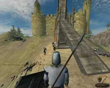 Mount & Blade - Gameplay - Siege attempt 1