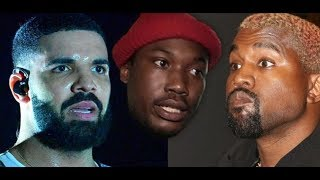 Meek Mill Trolls Drake Kanye Lol And Kanye West Exposes Travis Scott For Going Against Family
