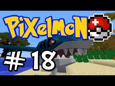 Minecraft Pixelmon - E18 sharknado! (pokemon Mod For Minecraft!) video