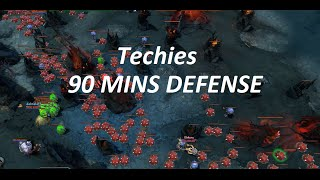 90 Mins Defense Techies Gameplay  !
