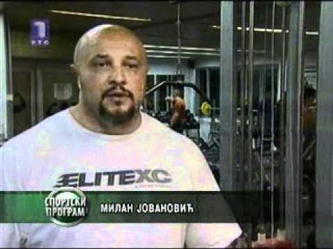 Milan Jovanovic Milan Strongman Jovanovic on