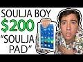 """I WASTED $200 On Soulja Boy's NEW """"Soulja Pad"""" 😂"""