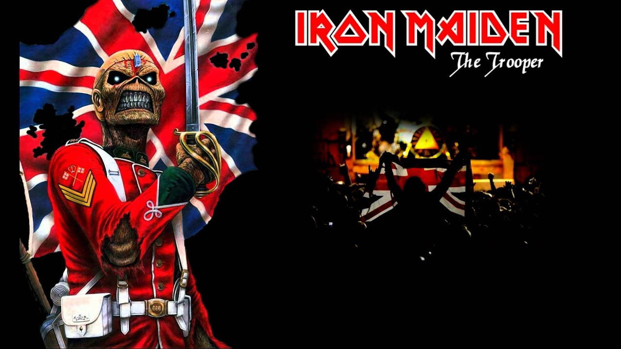 Iron Maiden - The Trooper (Karaoke) - YouTube
