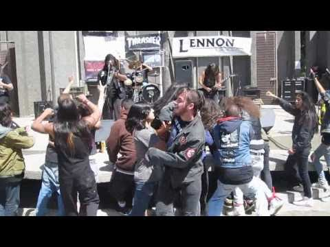 Witchaven - 2nd clip from Tidal Wave 2010 free metal concert