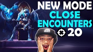 CLOSE ENCOUNTERS 20 KILLS VS SQUADS | NEW MODE FUNNY GAME | VALKYRIE SKIN - (Fortnite Battle Royale)