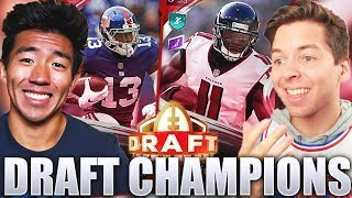 BEST DRAFT! CRAZIEST GAME VS TD PRESENTS! Madden 20 Draft Champions