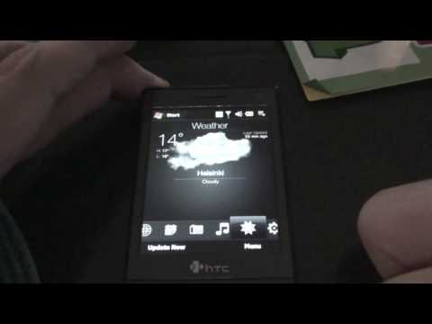 HTC Touch Diamond with Gen.Y TouchFlo3Dv2.1 VGA