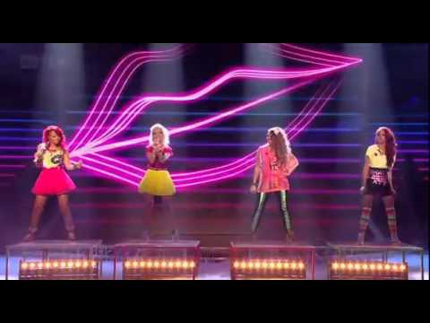 Little Mix - Telephone - The X Factor - Live Show 6
