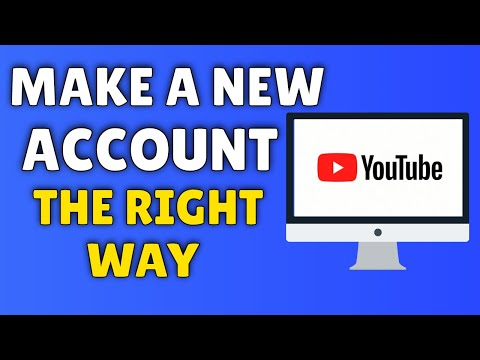 How To Make A YouTube Account | 2013
