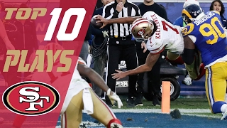 49ers Top 10 Plays of the 2016 Season | NFL Highlights