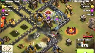 Clash of Clans- Guerre des clans Ep#2 ( Frères d'armes )