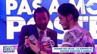 Baptiste Giabiconi fait une belle surprise à Isabelle Morini-Bosc