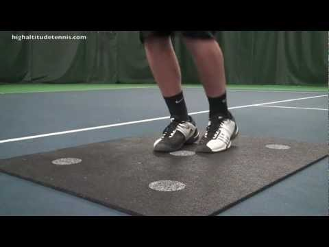 Tennis Fitness: Dot Drills To Improve Your Tennis Footwork