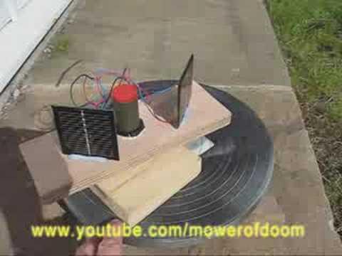 Simple Diy Solar Tracker Youtube
