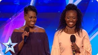 Sisters Suzanne and Roxanne take on Stormzy and have a big SURPRISE in store!   Auditions   BGT 2018