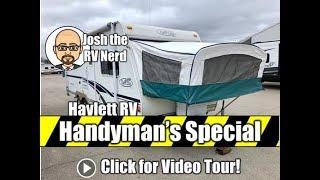 HANDYMAN'S SPECIAL 2003 Trail Lite Bantam 22S Hybrid Travel Trailer