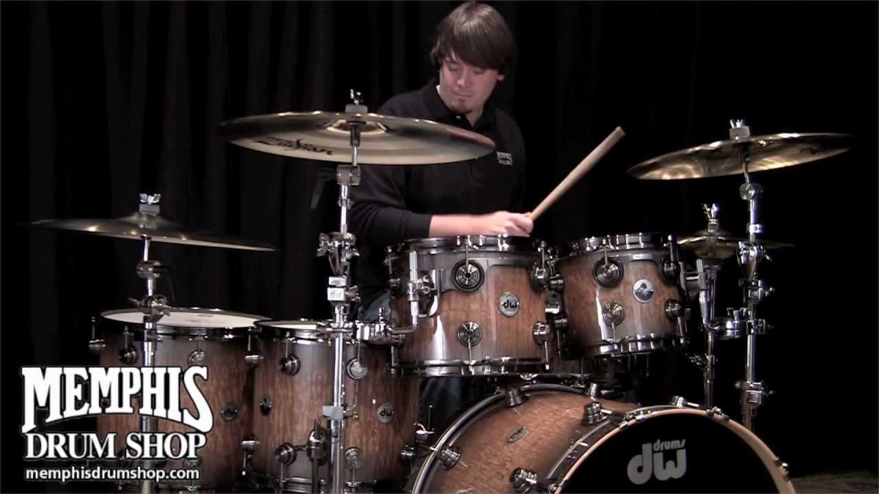 DW Exotic 40th Anniversary Drum Set