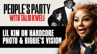 Lil Kim Tells Story Of How Biggie Picked The Iconic 'Hardcore' Squat Photo | People's Party Clip