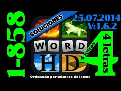4 Fotos 1 Palabra | Todas las soluciones de 4 letras (1-858)