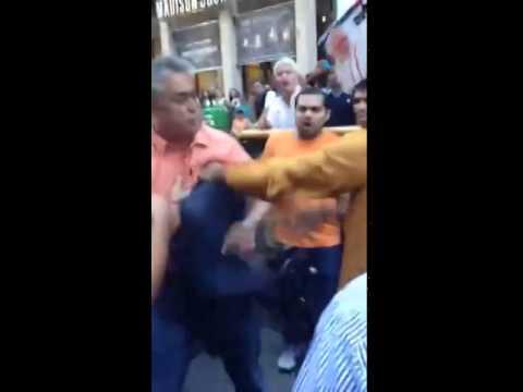 Rajdeep Sardesai Slapped In NewYork