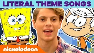 Literal Theme Songs 🎼 SpongeBob, Henry Danger, Loud House & MORE! | #MusicMonday