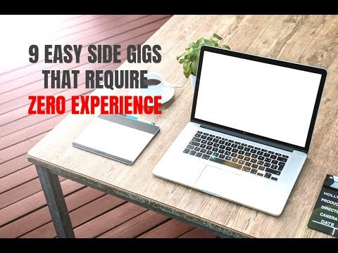 9 Easy Side Gigs that Don't Require Experience