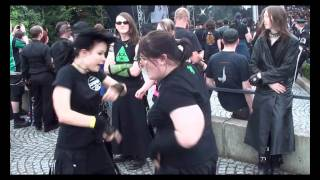 Kitty & Soul dancing at Amphi 2011