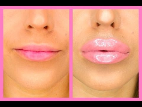 How To Make Your Lips BIGGER In 5 Minutes