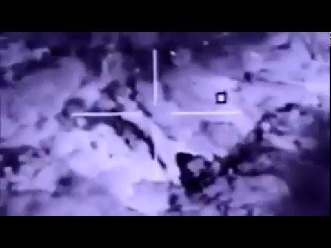 Iraqi Air Force F16 strikes on ISIS communications compound near Mosul