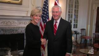 Sec of State Tillerson Meets Australia Minister