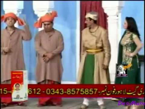 zafri Khan & Nasir Chinyoti as Darbari With Iftikhar thakur 0092 344 6130 700
