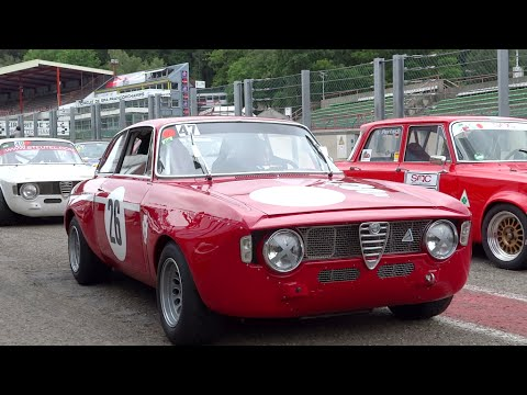 Alfa GTA,GTA/M TRACKDAY SPA 2014 GREAT SOUND