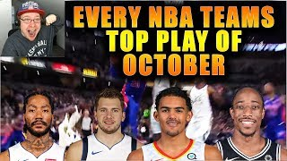 Reacting To Cosh Report Every NBA Team's Best Play in October! (2019-2020)