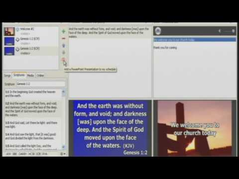 EasyWorship '09 Software Training Tutorial #3 of 3