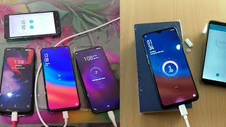Super VOOC Charge Vs Dash Charge Vs Dual Engine Fast Charging Vs Vooc Charge Test